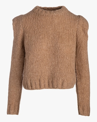 Naadam Structured Shoulder Sweater 2