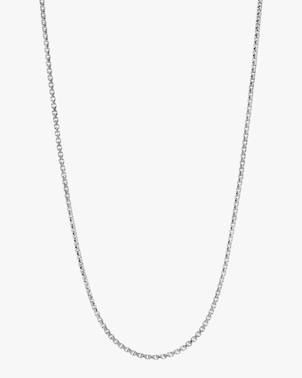 John Hardy Men's Silver Box Chain 2
