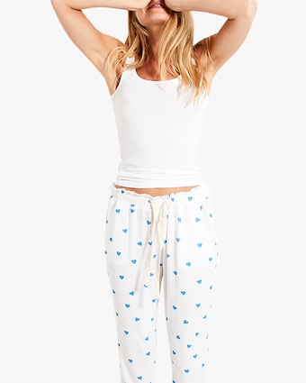 Stripe & Stare Blue Heart Lounge Pants 2