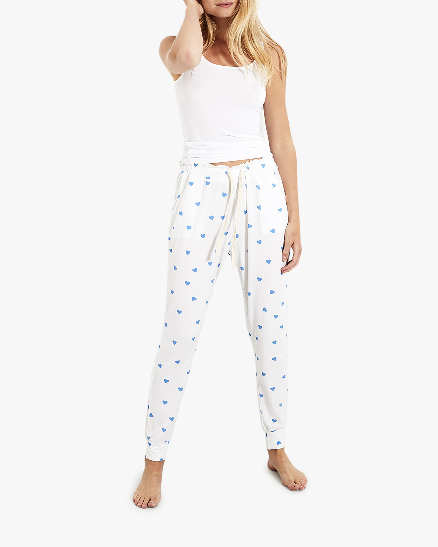Stripe & Stare Blue Heart Lounge Pants 2