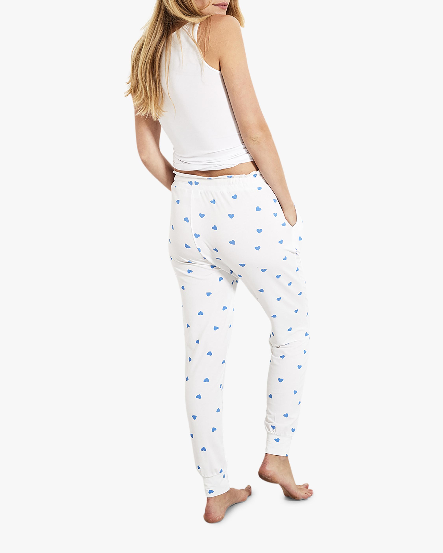 Stripe & Stare Blue Heart Lounge Pants 3