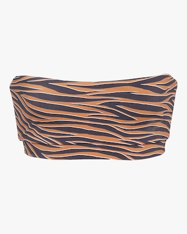 Anemos Tiger Bandeau Bikini Top 2