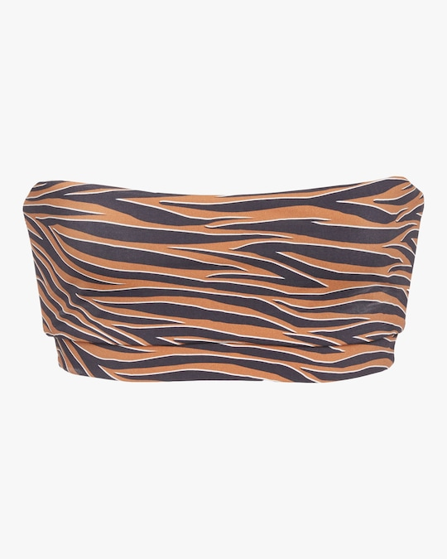 Anemos Tiger Bandeau Bikini Top 0