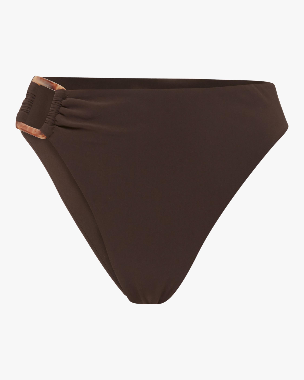 Anemos Asymmetric Tortoise High-Waist Bikini Bottom 1