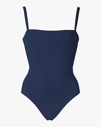 Anemos Square Neck Maillot Swimsuit 1