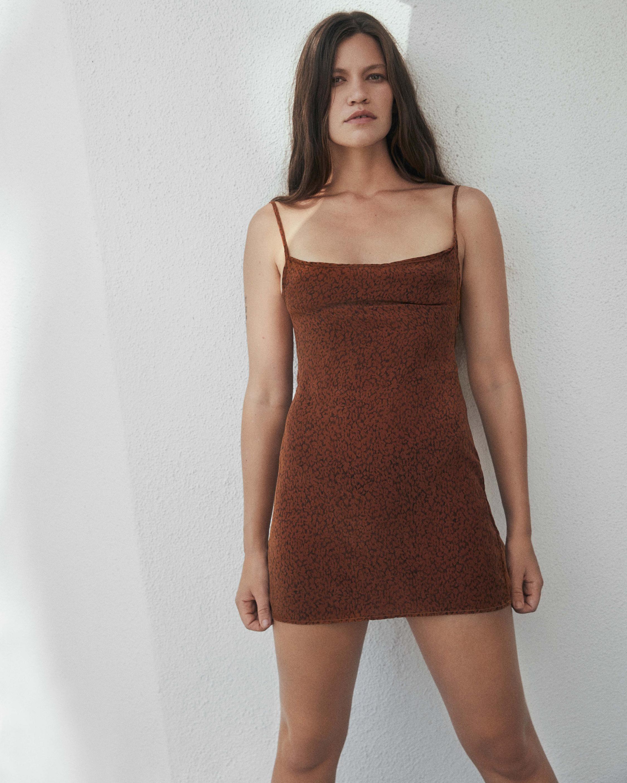 Anemos The K.M Tie Mini Dress 1
