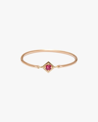 Yi Collection Don't Box Me In Ruby Ring 2