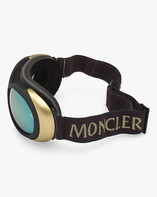 Moncler Black Mirrored Ski Goggles 2