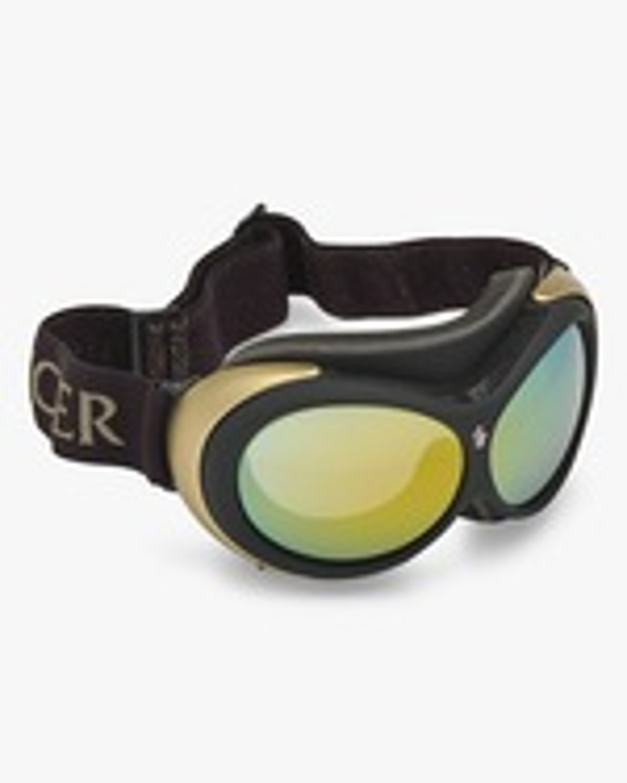 Moncler Black Mirrored Ski Goggles 5
