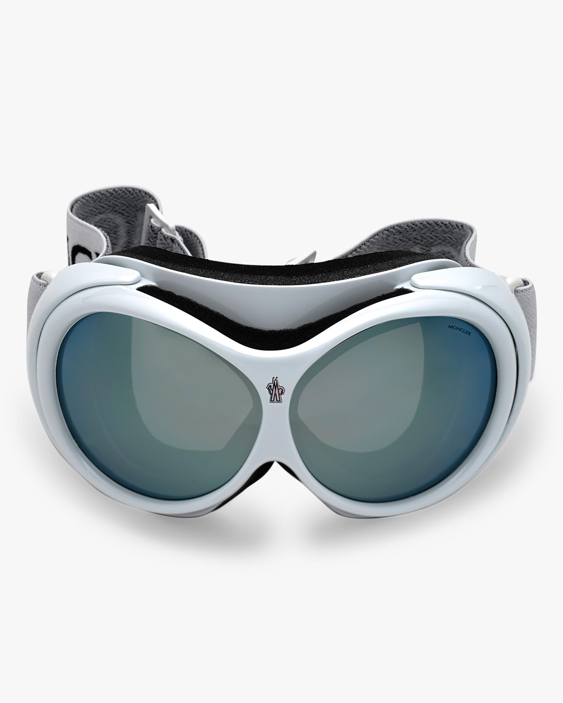 Moncler White Smoke Ski Goggles 0