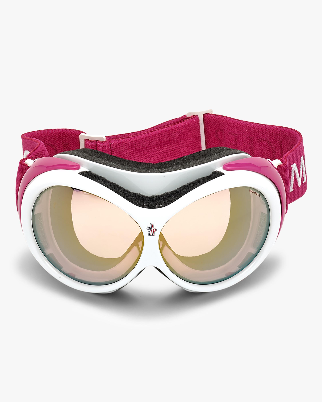 Moncler White Ski Goggles 0