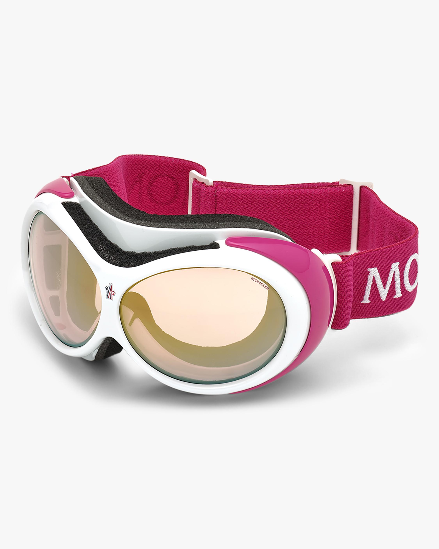 Moncler White Ski Goggles 2