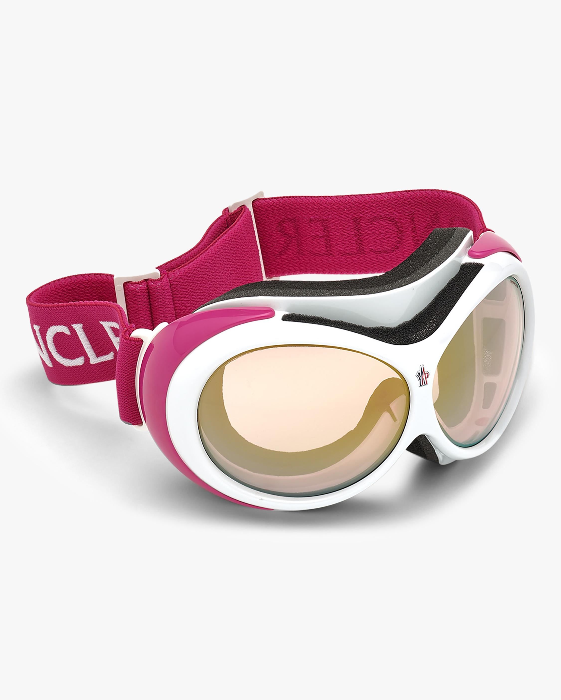 Moncler White Ski Goggles 5