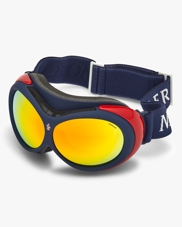 Moncler Blue Mirrored Ski Goggles 2