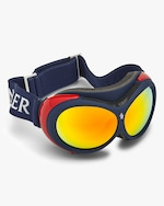 Moncler Blue Mirrored Ski Goggles 5