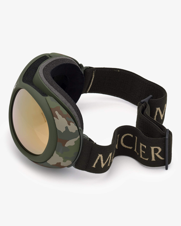 Moncler Matte Green Ski Goggles 2