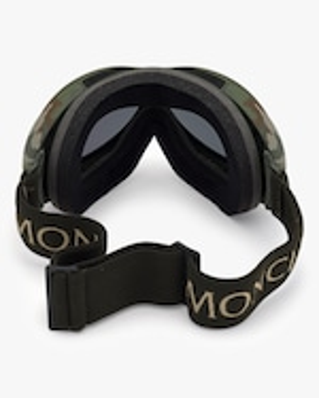 Moncler Matte Green Ski Goggles 4