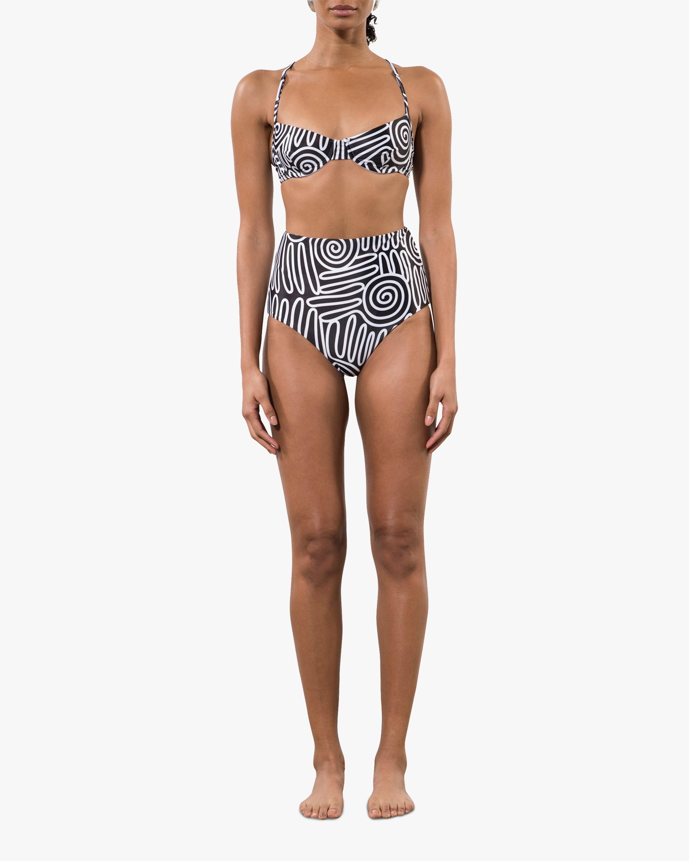 Mara Hoffman Lydia High-Waisted Bikini Bottom 2