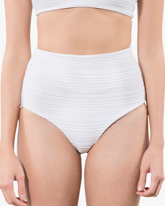Mara Hoffman Lydia High-Waisted Bikini Bottom 0