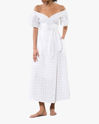 Mara Hoffman Adelina Wrap Dress Cover-Up 1