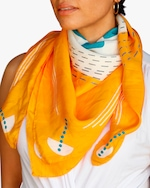 This Same Sky Root Silk Scarf 3
