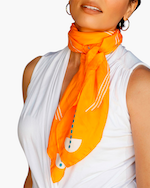 This Same Sky Root Silk Scarf 4