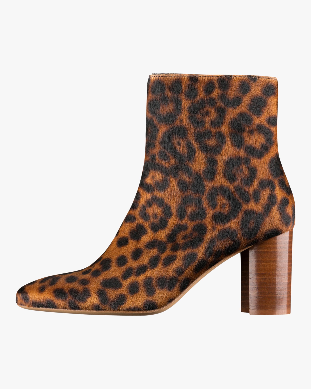 A.P.C. Liv Leopard Print Ankle Boot 1