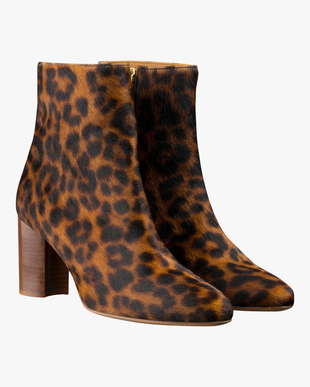 A.P.C. Liv Leopard Print Ankle Boot 2