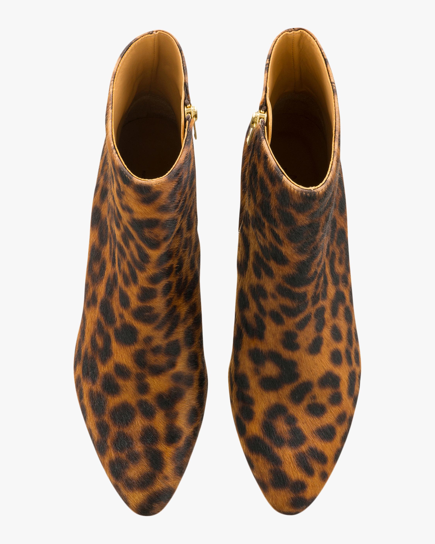 A.P.C. Liv Leopard Print Ankle Boot 3