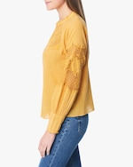 Joe's Jeans Marjorie Lace-Panel Blouse 1