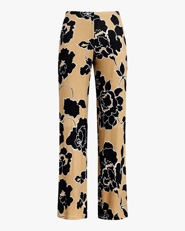 Leset Lori Floral Wide-Leg Pants 1