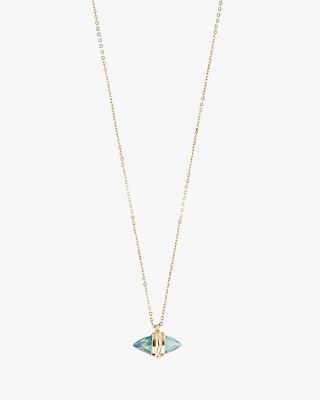 UNOde50 Crystal Clear Long Necklace 2