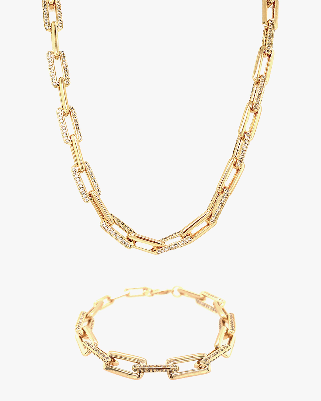 Jordan Road Jewelry Posh Necklace & Bracelet Set 1