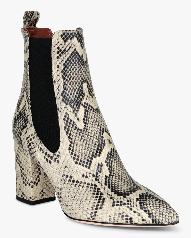 Paris Texas Python-Print Ankle Boot 2