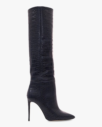 Paris Texas Croc-Embossed Stiletto Boot 2