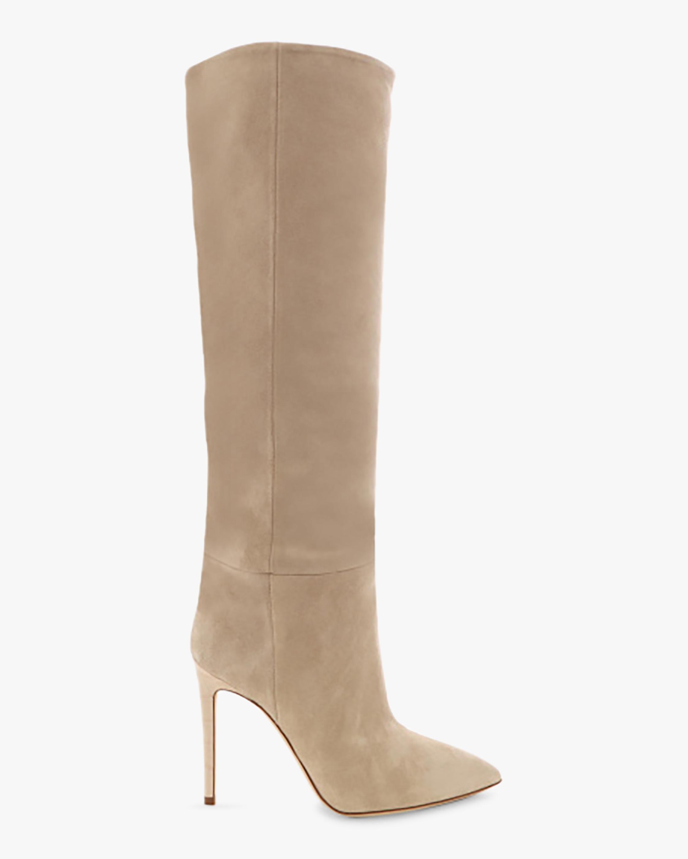 Paris Texas Velour Stiletto Boot 1