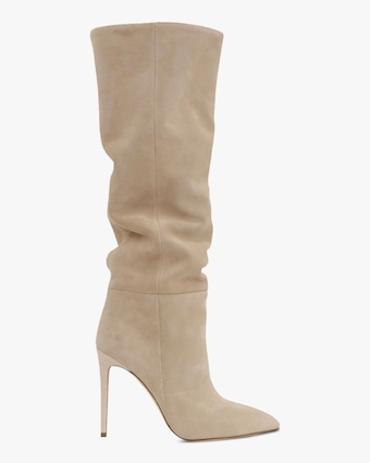 Paris Texas Velour Stiletto Boot 1