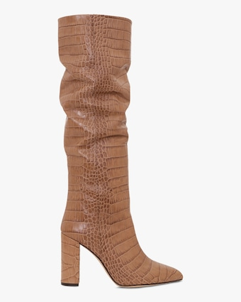 Paris Texas Croc-Embossed Tall Boot 2