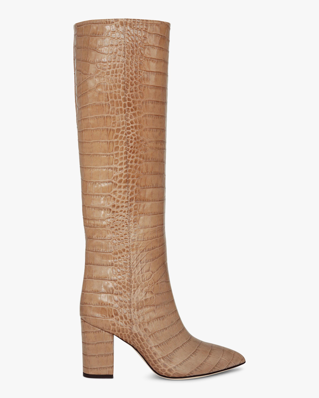 Paris Texas Croc-Embossed Tall Boot 1