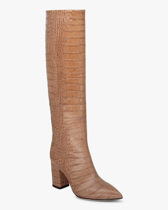 Paris Texas Croc-Embossed Tall Boot 1