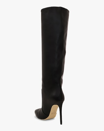 Paris Texas Seamed Leather Tall Boot 2