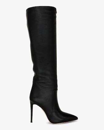 Paris Texas Seamed Leather Tall Boot 1