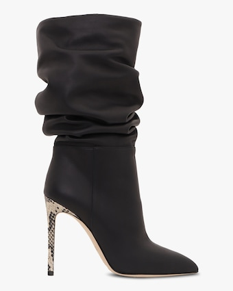 Paris Texas Leather Slouchy Stiletto Boot 1