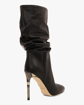 Paris Texas Leather Slouchy Stiletto Boot 2