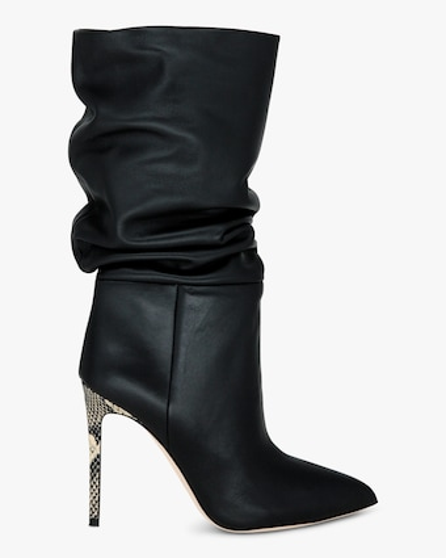 Paris Texas Leather Slouchy Stiletto Boot 1