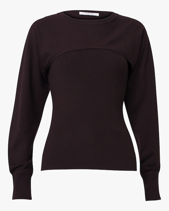 Dorothee Schumacher Open Mind O-Neck Top 0