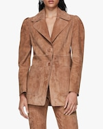 Dorothee Schumacher Velour Softness Suede Jacket 3