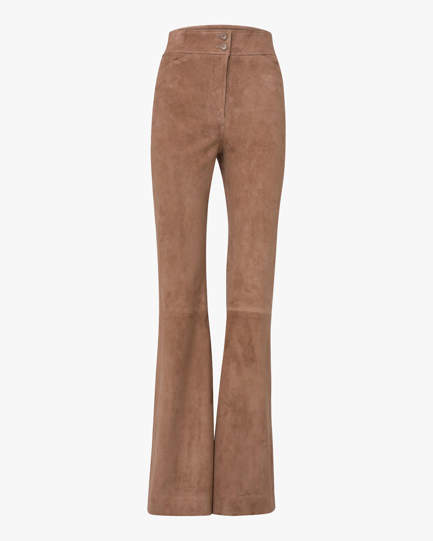 Dorothee Schumacher Velour Softness Suede Pants 1