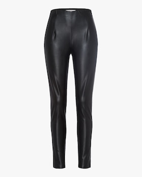 Sleek Performance Faux Leather Pants