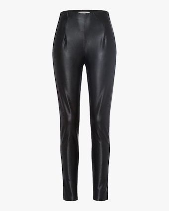 Dorothee Schumacher Sleek Performance Faux Leather Pants 1